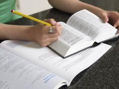 Studying dictionary - Image Source/Digital Vision/Getty Images