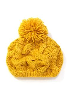 Mustard Yellow Hat