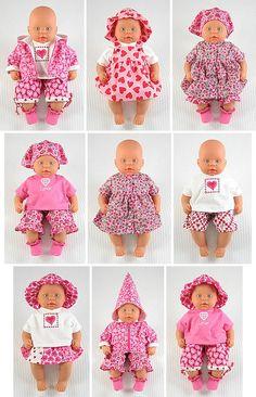 inspiratiebron voor vele poppenkleertjes. Op de site kun je makkelijk patronen vinden (deel gratis).