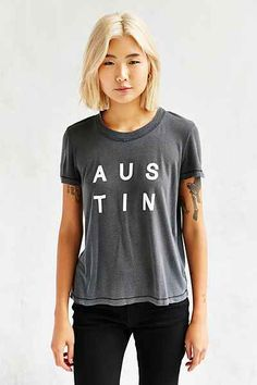Truly Madly Deeply Austin Pigment Tee - Urban Outfitters