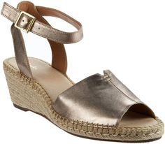 829a896a114 Clarks Artisan Leather Espadrille Wedge Sandals - Petrina Selma