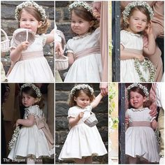 I hope your not tired of me spamming your feed with Pippa's wedding photos! But here is the bridesmaids! #PrincessCharlotte is so flippin' cute!