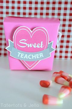 Free Valentine Gift Printables! Perfect for a friend or teacher in your life!! -- Tatertots and Jello #DIY #Valentines #printables