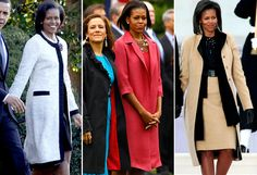 First Lady Fashion: Michelle Obama  Whether she's wearing a casual cardigan or a full-length gown, Mrs. Obama's style is sophisticated, accessible and stunning.