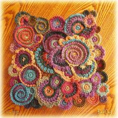 sac crochet : Tous les messages sur sac crochet - Page 2 - Easy Crochet Art Au Crochet, Mandala Au Crochet, Crochet 101, Freeform Crochet, Crochet Flowers, Crochet Tutorials, Crochet Stitches Patterns, Stitch Patterns, Crochet Simple