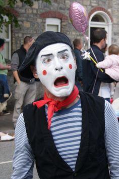 street mime artist