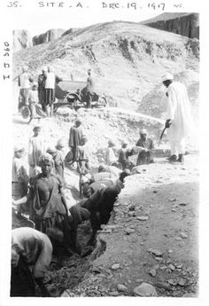 Excavating in the Valley of the Kings