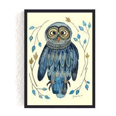 Print *Eule* #eule #owl