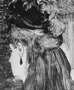 Edgar Degas, The Jet Earring, monotype, Edgar Degas, Degas Drawings, Art Drawings, Pierre Auguste Renoir, Monet, Lino Art, Avant Garde Artists, Oeuvre D'art, Printmaking