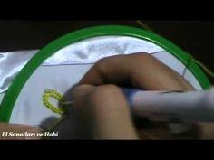 Punch İğnesi İle Nakış Tekniği - YouTube