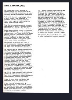 Arte e xerografia, Edited by Bruno Munari, Milano, 1972