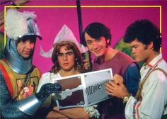The Monkees The Fairy Tale Episode - Davy and Mike made such glamerous girls. XD
