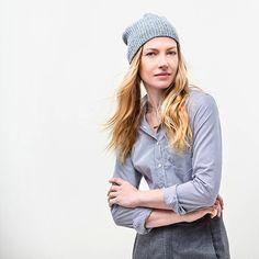 Harper Hat by Brooklyn Tweed is perfect weekend hat