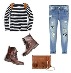 """Untitled #232"" by abbey-mccracken on Polyvore featuring J.Crew and Rebecca Minkoff"