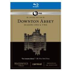 Downton Abbey Seasons 1 & 2 Limited Edition Set on Blu-ray for $25.99 (reg. 64.99$)