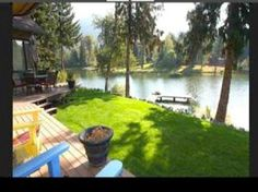 227 Buck Run - Sandpoint, Idaho Waterfront, private hot tub, on Lake Pend Oreille and pet friendly! (800-844-3246)