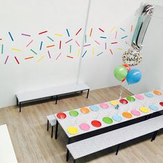 Sprinkles Wall Decals Confetti Sprinkles Wall stickers
