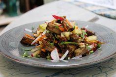 Beef Salad with Veggies