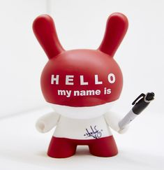 Hello My Name Is Dunny by Huck Gee at This Is Not a Toy