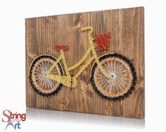String Art Kit Sunflower String Art DIY Kit by StringoftheArt