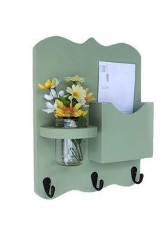 Correo - organizador de correo y clave sostenedor - letra sostenedor - clave ganchos-jarra florero - organizador de correo