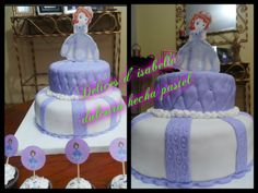 Torta princesa Sofia..dulzura hecha pastel Children, Cake, Princess Sofia, Food Cakes, Recipes, Young Children, Boys, Kids, Kuchen