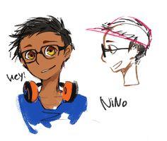 GAMNAMU — Miraculous ladybug classmate Rose, nino, alya,...
