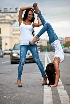 love the look of white tanks and jeans. love these shoes. love the picture. love best friends. new kerry photo?
