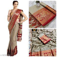 Sarees Kashvi Superior Sarees Saree Fabric: Jacquard Blouse: Running Blouse Blouse Fabric: Jacquard Pattern: Self-Design Blouse Pattern: Jacquard Multipack: Single Sizes:  Free Size (Saree Length Size: 5.3 m, Blouse Length Size: 0.8 m)  Country of Origin: India Sizes Available: Free Size   Catalog Rating: ★4.2 (505)  Catalog Name: Adrika Voguish Sarees CatalogID_2335782 C74-SC1004 Code: 235-12198275-