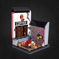 For many years I've been a fan of doozy models www.doozymodelworks.com and have a bunch of them pinned on my Pinterest account! And finally I was able to build one of them: the little charming European Café Shop! Managed to put a lot of details and tried a few techniques that I had in mind for a while but also some new stuff! What's your favourite detail? Mine is definitely the small chair and the lamps! Thanks for the millionth time to Markus for all the hints and suggestions! Hope y...