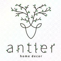 Antler+Deer+Home+Decor+logo