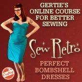 Probably my new favorite blog . . . lots of tutorials on adorable retro/bombshell style clothing!