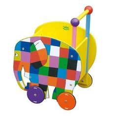 Elmer Cart Imaginative Play, Our Kids, Handmade Toys, Future Baby, Little Boys, Wooden Toys, Kids Toys, Kids Outfits, Creations