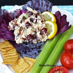 Menu Musings of a Modern American Mom: Greek Yogurt Chicken Salad