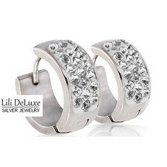 RVS Edelstaal Hoop Oorbellen Creolen, Pretty Juwelen Sieraden Online Shop