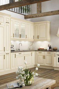 Die 30 besten Bilder von Landhaus-Küche: romantische Küche ...