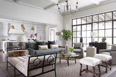 Everything.  Steel Windows, ceiling, great room, pendants, neutrals, covered patio. Meredith   Ryan Street & Associates