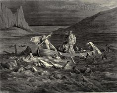 Gustave Dore's Illustration for Canto 8 of Dante's Divine Comedy.