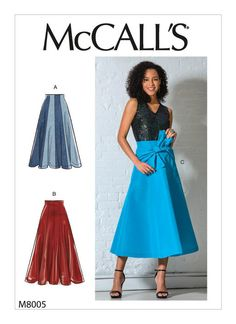 Sewing patterns for fashion clothing, crafts and home decorating. Dress sewing patterns, evening and prom sewing patterns, bridal sewing patterns, plus costume and cosplay sewing patterns. Mccalls Sewing Patterns, Vogue Patterns, Coat Patterns, Dress Patterns, Jumpsuit Pattern, Vest Pattern, Gored Skirt, Knit Dress, Dresses For Work