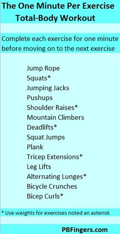 total body workout fitness