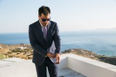Stylish Wedding in Tinos by Fiorello Photography Greece Wedding, Destination Wedding Photographer, Suit Jacket, Wedding Photography, Stylish, Celebrities, Fashion, Moda, Fashion Styles