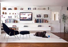 10 modelos de móveis planejados para Home Theater
