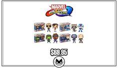 Bundle: POP! Games: Marvel vs. Capcom Infinite 2-Packs