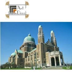 Fenn Top 5 Picks of   Architecture and Art Deco  Our No. 2 Pick  The National Basilica of the Sacred Heart Brussels, Belgium  Architect: Albert Van Huffel