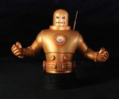 [GENTLE GIANT] Iron Man Mark II Golden Armor Bust