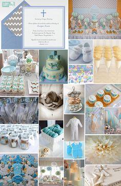 Invitaciones de bautizo, invitaciones para bautizo, ideas para celebrar bautizos, niño, galletas decoradas
