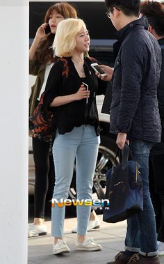 Sunny : 130329 Incheon Airport #WelcomeSNSDtoThailand