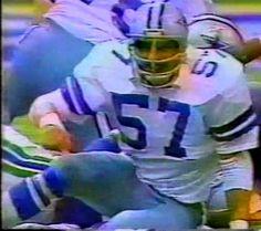 Reserve linebacker BRUCE HUTHER (57)--November 27, 1980 Cowboys 4, Dallas Cowboys, Captain America, Fence, November, Iron, Sports, November Born, Hs Sports