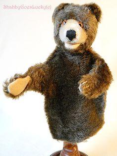 Steiff Hand  Teddy Baby vintage bear hand by ShabbyGoesLucky, €70.00