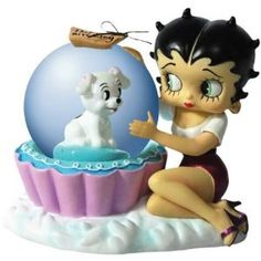 Westland Giftware Cupcake Betty 45mm Water Globe Collectible,$17.00